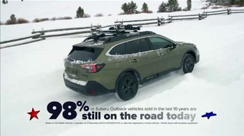 Subaru Washington's Birthday Sales Event TV Spot, 'Feel the Freedom: Outback' [T2]