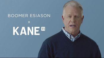 Kane 11 Socks TV Spot, 'Transforming the Way We Wear Socks: 20% Off' Featuring Boomer Esiason - Thumbnail 1