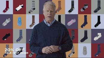 Kane 11 Socks TV Spot, 'Transforming the Way We Wear Socks: 20 Percent Off' Featuring Boomer Esiason - Thumbnail 4