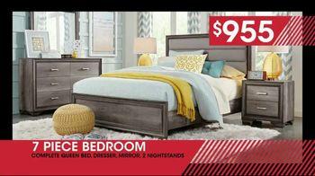 January Clearance Sale: Seven Piece Bedroom Set: $955 thumbnail