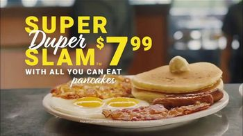 Denny's Super Duper Slam TV Spot, 'Where the Duper Comes In: $7.99' - Thumbnail 8