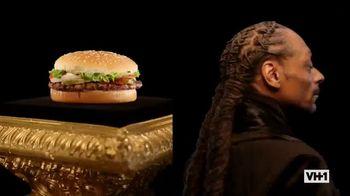 Burger King TV Spot, 'VH1: Whopper Rap' Featuring Snoop Dogg - Thumbnail 4
