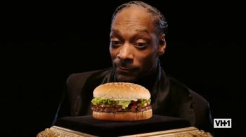 Burger King TV Spot, 'VH1: Whopper Rap' Featuring Snoop Dogg - 13 commercial airings