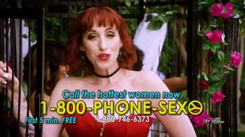 1-800-PHONE-SEXY TV Spot, 'Been So Naughty'