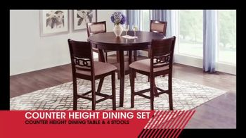 Rooms to Go January Clearance Sale TV Spot, 'Counter Height Dining Set: $499' - Thumbnail 2