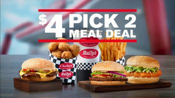 Checkers $4 Pick 2 Meal Deal TV Spot, 'With Fries and a Drink: Delivery' - Thumbnail 10