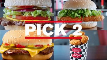 Checkers $4 Pick 2 Meal Deal TV Spot, 'With Fries and a Drink: Delivery' - Thumbnail 3