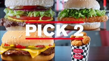 Checkers $4 Pick 2 Meal Deal TV Spot, 'With Fries and a Drink: Delivery' - Thumbnail 4