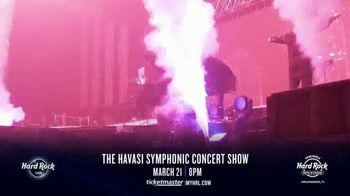 Hard Rock Hotels & Casinos TV Spot, 'Havasi Symphonic Concert Show' - Thumbnail 4
