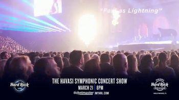 Hard Rock Hotels & Casinos TV Spot, 'Havasi Symphonic Concert Show' - Thumbnail 6