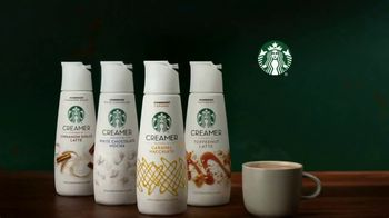 Starbucks Creamer TV Spot, 'Your Favorites Come to Life' - Thumbnail 10