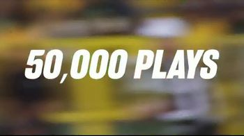 NFL TV Spot, 'Building a Better Game: 50,000 Plays' - 1782 commercial airings