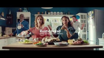 Amazon Prime 2-Hour Grocery Delivery TV Spot, 'Trouble Ahead' Song by Nat King Cole - Thumbnail 5