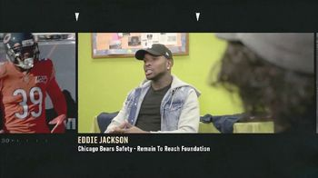 NFL TV Spot, 'Inspire Change: Remain to Reach Foundation' Featuring Eddie Jackson - Thumbnail 1