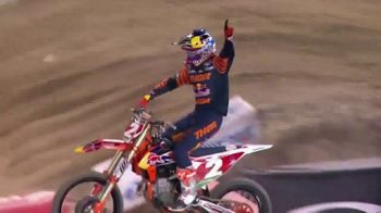 NBC Sports Gold Supercross Pass TV Spot, 'Every Lap, Every Round'