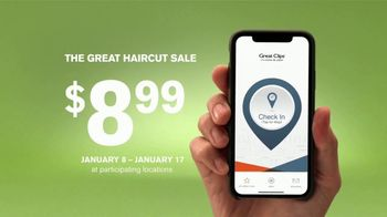 Great Clips The Great Haircut Sale TV Spot, 'Good vs. Great' - Thumbnail 5