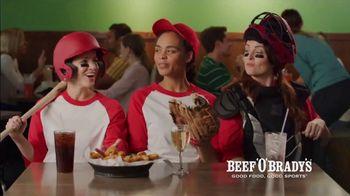 Beef 'O' Brady's Triple Play Saturdays TV Spot, 'Three Course Meals'
