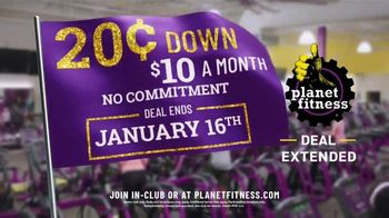 Planet Fitness TV Spot, '20 Cents Down, $10 a Month' - Thumbnail 6