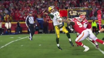 Amazon Web Services TV Spot, 'Next Gen Stats: Defying Physics' Featuring Aaron Rodgers - 4 commercial airings