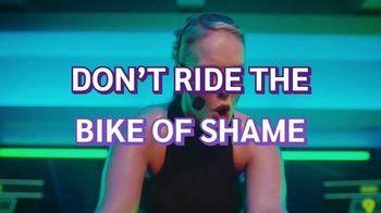 Planet Fitness TV Spot, 'Bike of Shame: No Commitment'