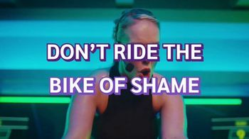 Planet Fitness TV Spot, 'Bike of Shame: No Commitment'