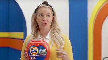Tide Power Pods TV Spot, 'Large Laundry Loads with Cat & Nat' - Thumbnail 4