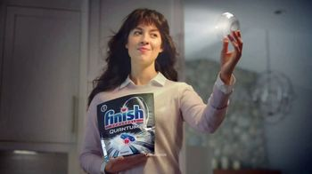 Finish Powerball Quantum TV Spot, 'Dull Dishes'