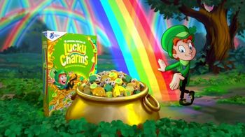 Lucky Charms TV Spot, 'St. Patrick's Day: Rainbow Explosion'