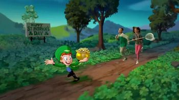 Lucky Charms TV Spot, 'St. Patrick's Day: Rainbow Explosion' - Thumbnail 1