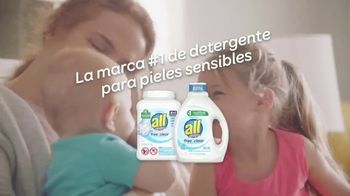 All Laundry Detergent TV Spot, 'Piel sensible' [Spanish] - Thumbnail 9