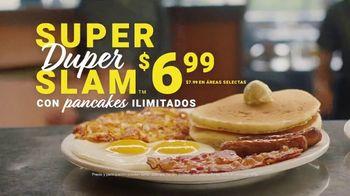 Denny's Super Duper Slam TV Spot, '¡Nuevo! Super Duper Slam de Denny's a $6.99 dólares' [Spanish] - Thumbnail 8