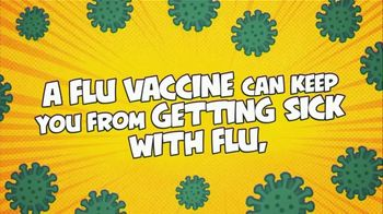 Centers for Disease Control and Prevention TV Spot, 'Flu Can Be Very Serious: Flu Vaccine Protects'