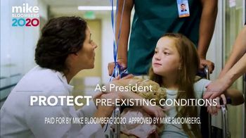 Mike Bloomberg 2020 TV Spot, 'Pre-Existing Conditions' - Thumbnail 9