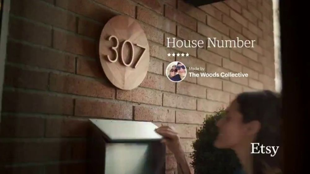 Etsy TV Commercial, 'No One Like You: House Number, Blush Planter, Sunburst Mirror'