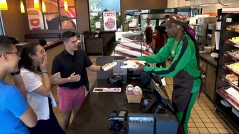 Dunkin' Beyond Sausage Sandwich TV Spot, 'Employee of the Month' Featuring Snoop Dogg - Thumbnail 8