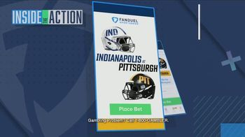 FanDuel Sportsbook TV Spot, 'Special Report: Indianapolis at Pittsburgh' - Thumbnail 3