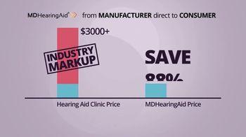 MDHearingAid TV Spot, 'Shook Up the Industry: BOGO'