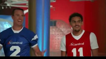 Carnival TV Spot, 'Folks Who Left Their Normal Day Behind' Featuring Matt Ryan and Trae Young