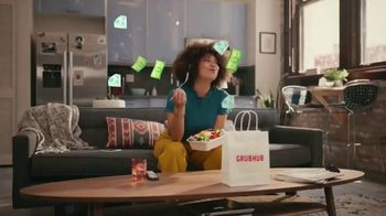 Grubhub TV Spot, 'Perks: Free Delivery on Your First Order' Song by Lizzo - Thumbnail 8