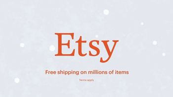 Etsy TV Spot, 'Here's to the Givers: Joy Seekers' - Thumbnail 7