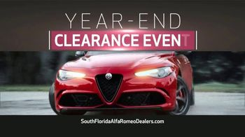 Alfa Romeo Year-End Clearance Event TV Spot, '2019 Giulia and Stelvio' [T2] - Thumbnail 3