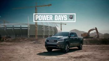 Ram Trucks Power Days TV Spot, 'A Great Deal' Song by Stone Temple Pilots [T2] - Thumbnail 1