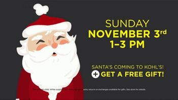 Kohl's Super Saturday TV Spot, 'Black Friday Unlocked: Santa's Coming' - Thumbnail 8