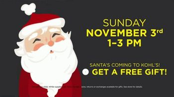 Kohl's Super Saturday TV Spot, 'Black Friday Unlocked: Santa's Coming' - Thumbnail 7