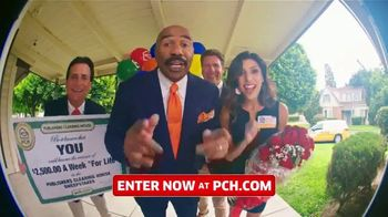 Publishers Clearing House TV Spot, '$2,500 a Week: We Could Be at Your Door' Featuring Steve Harvey - 681 commercial airings