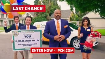 Publishers Clearing House TV Spot, '$2,500 a Week: We Could Be at Your Door' Featuring Steve Harvey - Thumbnail 1