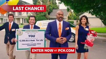 Publishers Clearing House TV Spot, '$2,500 a Week: We Could Be at Your Door' Featuring Steve Harvey - Thumbnail 2