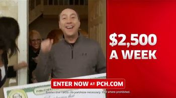 Publishers Clearing House TV Spot, '$2,500 a Week: We Could Be at Your Door' Featuring Steve Harvey - Thumbnail 5