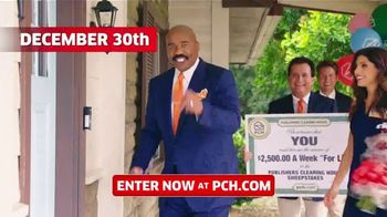 Publishers Clearing House TV Spot, '$2,500 a Week: We Could Be at Your Door' Featuring Steve Harvey - Thumbnail 6