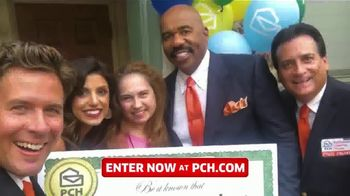 Publishers Clearing House TV Spot, '$2,500 a Week: We Could Be at Your Door' Featuring Steve Harvey - Thumbnail 8